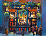 A painting of the Palace Bar, Fleet Street, Dublin