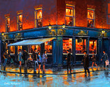 A painting of the Old Stand Pub, Dublin