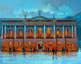 A painting of the College of Surgeons building, Dublin