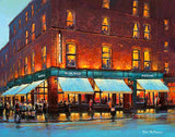 A painting of Hogans Bar and Lounge, Dublin