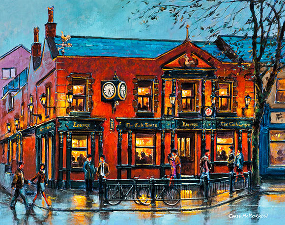 A painting of the Cock Tavern, Swords, Co Dublin