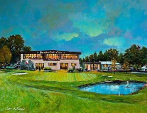 Painting of Bandon Golf Club, Cork
