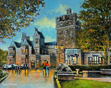 Painting of Clontarf Castle, Dublin.