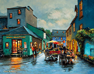Painting of the Milk Market, Kinsale, Co Cork