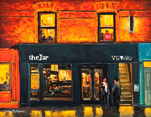 A painting of The Jar Pub, Wexford Street, Dublin