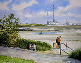A painting of Sandymount Strand, Dublin