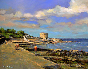 Painting of Seapoint, Co Dublin