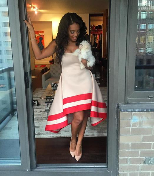 Angela Simmons Spotted Twice This Month In Muehleder