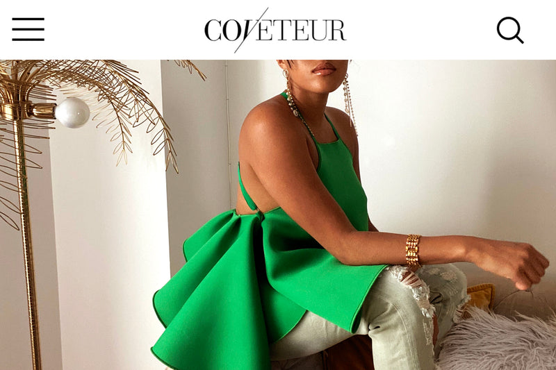 Black Owned: The Muehleder Catherine Top In The Coveteur