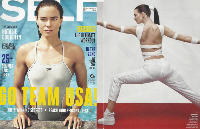 Self Magazine Olympic 2016 Issue Featuring Muehleder Scuba Tops