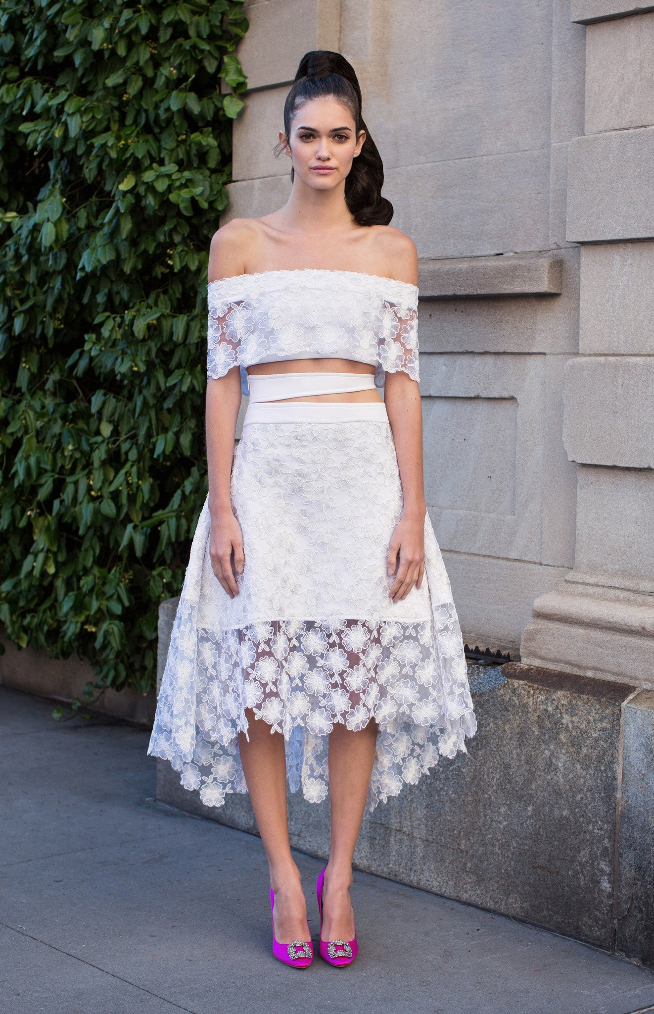 Katrina Layered Lace Skirt