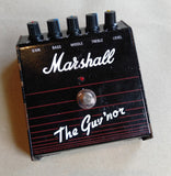 Marshall Gov'ner 1991-92 2ND HAND