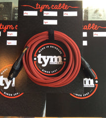 Tym Balanced Microphone/Line Cables