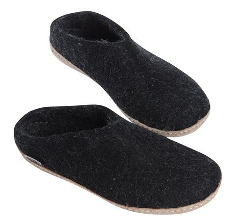Glerups slipper, Charcoal
