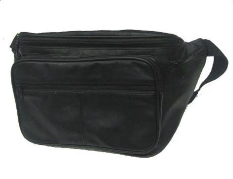Leather Fanny Pack - Extra Large - 15 x 8 x 5