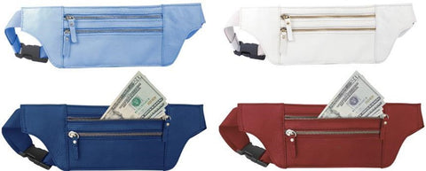 Leather - Money belt slim design