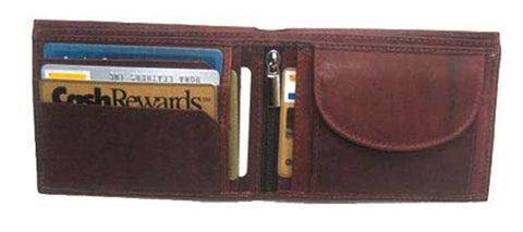 Wallet - Leather - Brown