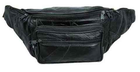 "Leather - Fanny pack - 16"" x 6"" x 3"""