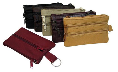 Coin/Key Purse - Assorted Colors