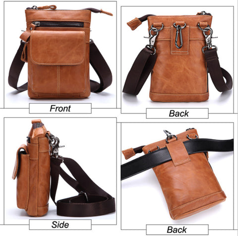 Hip/Shoulder bag - Genuine Leather