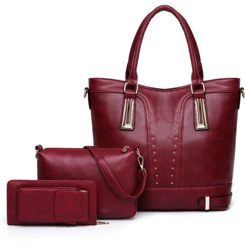 3 Piece Handbag Set