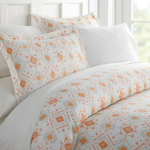 Duvet Cover - Aztec Pattern