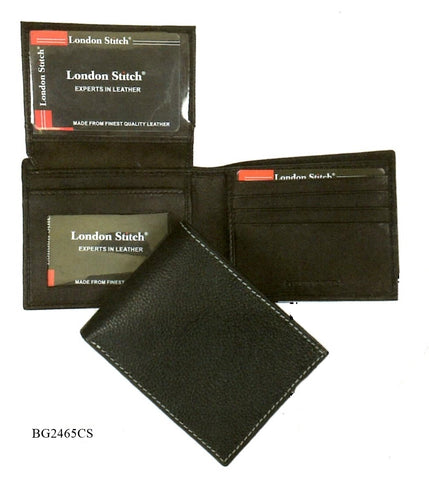 Leather - Bi-Fold Wallet - London Stitch