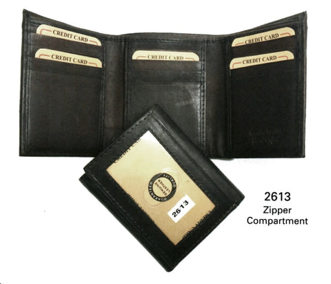 Leather - Tri-Fold Wallet