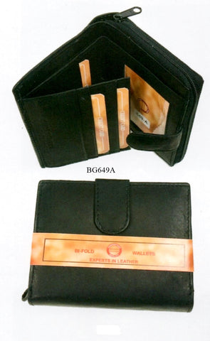 Leather - Bi-Fold Wallet