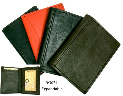 Leather - Credit Card Wallet