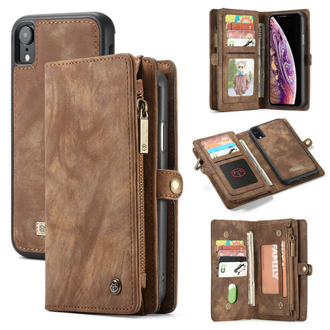 CaseMe Phone Wallets / Detachable Magnetic 2 in 1 Phone Case