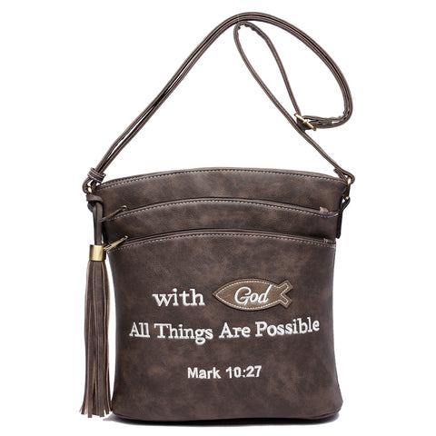 Scripture - Crossbody - Concealed Weapon Handbag