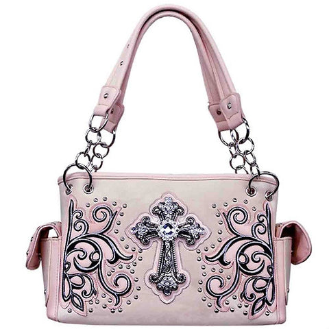 Concealed Weapon Handbag - Cross