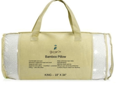 Bamboo Pillow - King
