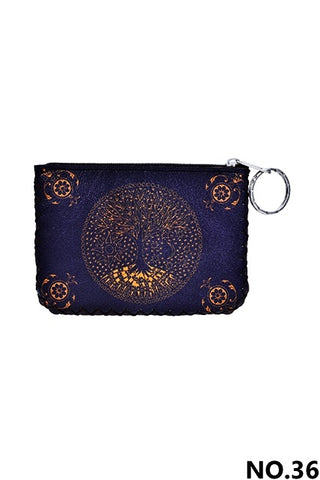 Graphic Coin Purse - Tree of Life