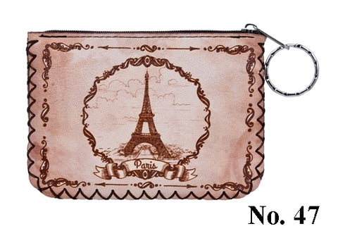 Graphic Coin Purse - Eiffel Tower