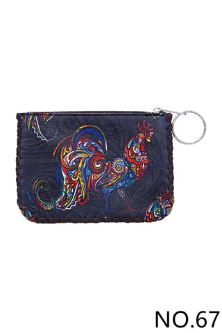 Graphic Coin Purse - Rooster