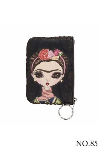 Graphic Coin Purse - Frida