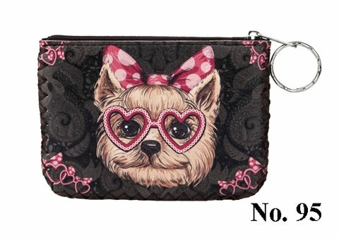 Graphic Coin Purse - Dog