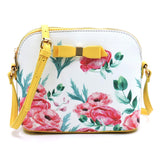 Bow - Flower Dome Crossbody Bag