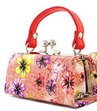 Lipstick - Coin Purse -   flower print
