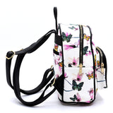 Butterfly Printed Backpack