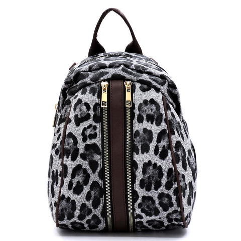 Leopard Convertible - Backpack