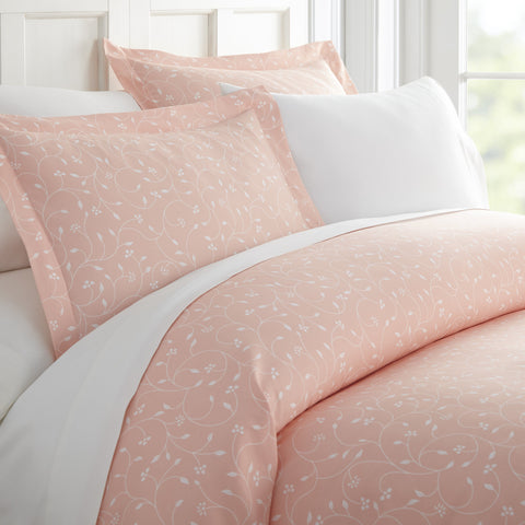 Duvet Cover - Pink Buds Pattern