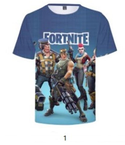 Fortnite 3-D T-shirts