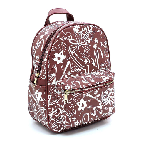 Fashion Graffiti Backpack