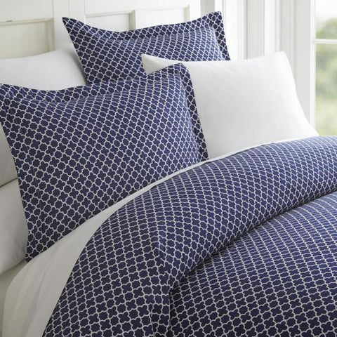 Duvet Cover - Quadrafoil Pattern
