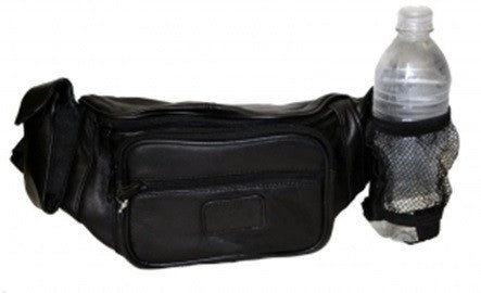 "Fanny Pack With Water Bottle & Cell Phone Holder - 16"" x 6"" x 3.5"""