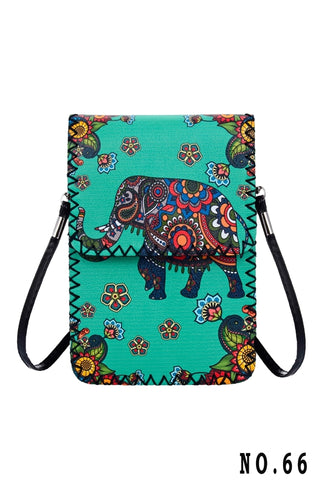 Crossbody - Graphic - Elephant