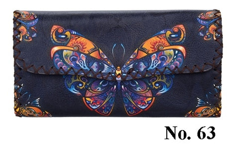 Graphic Wallet - Butterfly